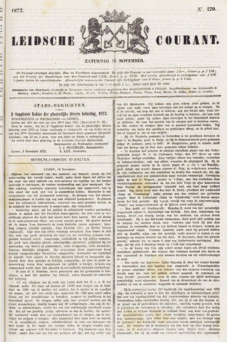 Leydse Courant 1873-11-15
