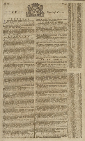 Leydse Courant 1754-03-04