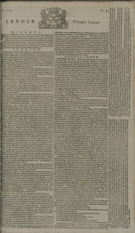 Leydse Courant 1745-07-09