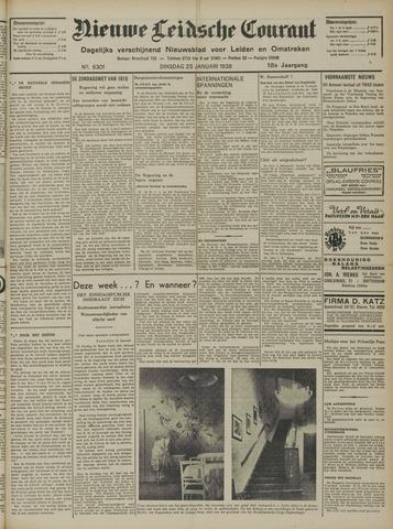 Nieuwe Leidsche Courant 1938-01-25