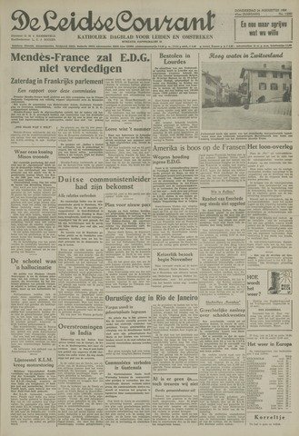 Leidse Courant 1954-08-26
