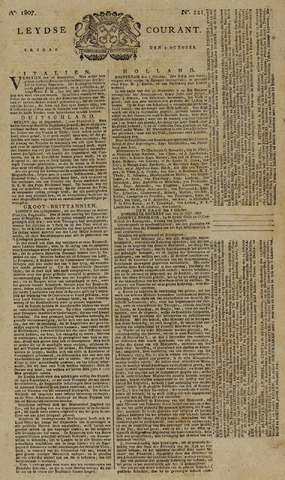 Leydse Courant 1807-10-09
