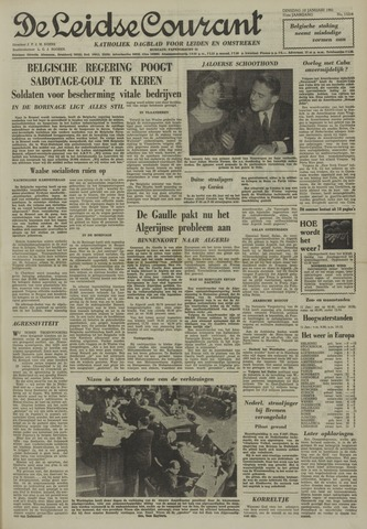 Leidse Courant 1961-01-10