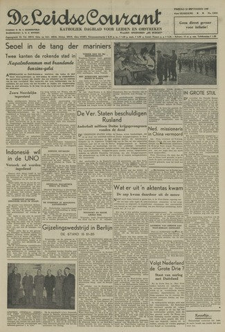 Leidse Courant 1950-09-22