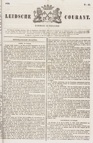Leydse Courant 1876-02-19