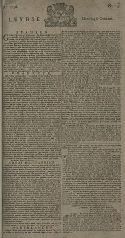 Leydse Courant 1736-12-31