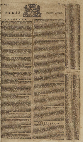 Leydse Courant 1754-08-30