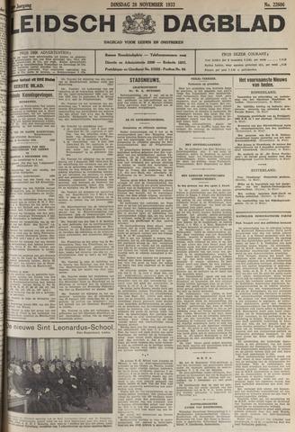 Leidsch Dagblad 1933-11-28