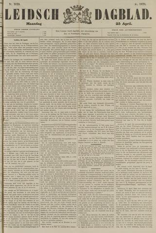 Leidsch Dagblad 1870-04-25