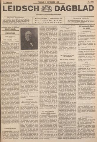 Leidsch Dagblad 1932-09-23