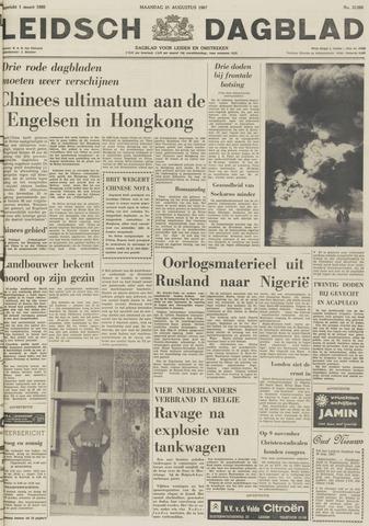Leidsch Dagblad 1967-08-21