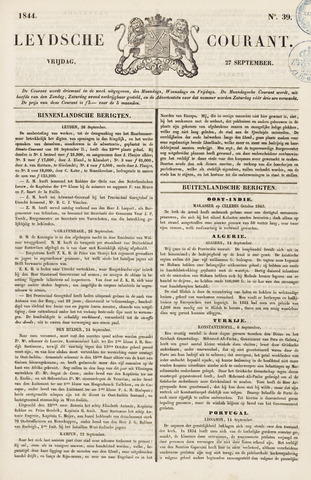 Leydse Courant 1844-09-27