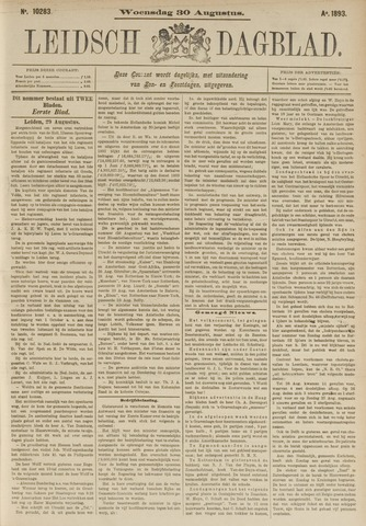 Leidsch Dagblad 1893-08-30