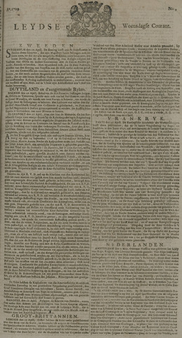 Leydse Courant 1729-05-04