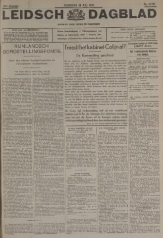 Leidsch Dagblad 1935-07-24
