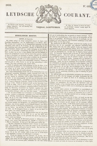 Leydse Courant 1852-09-24
