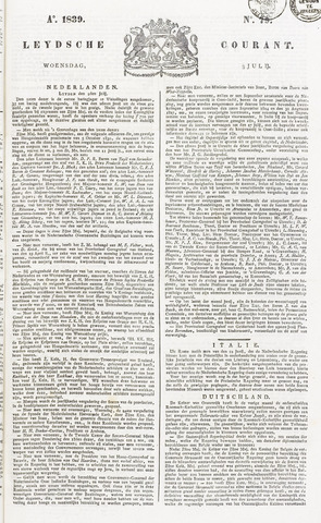 Leydse Courant 1839-07-03