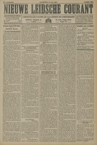 Nieuwe Leidsche Courant 1927-07-21