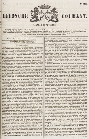 Leydse Courant 1875-08-30