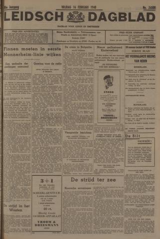 Leidsch Dagblad 1940-02-16