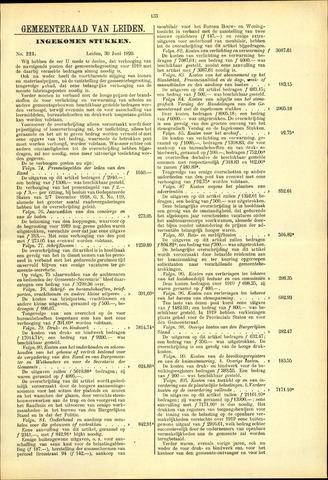 Handelingen van de Raad 1920-06-30