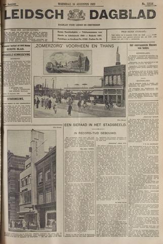 Leidsch Dagblad 1933-08-16
