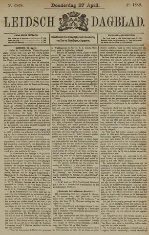 Leidsch Dagblad 1882-04-27