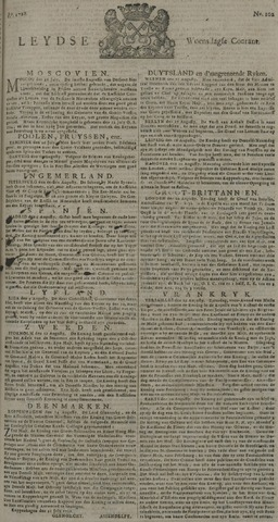 Leydse Courant 1728-08-25