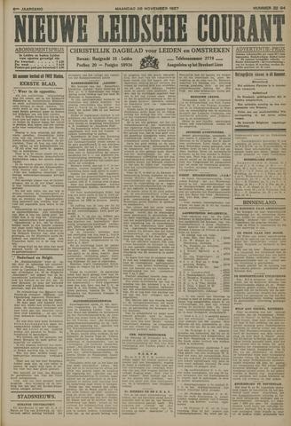 Nieuwe Leidsche Courant 1927-11-28