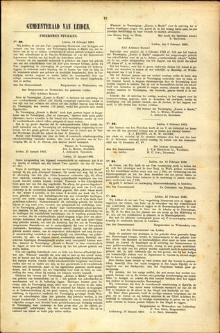 Handelingen van de Raad 1883-02-12