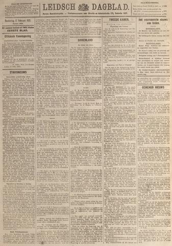 Leidsch Dagblad 1921-02-17