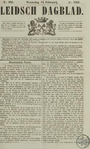 Leidsch Dagblad 1861-02-13