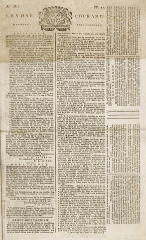 Leydse Courant 1817-02-03