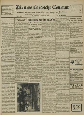 Nieuwe Leidsche Courant 1939-08-14