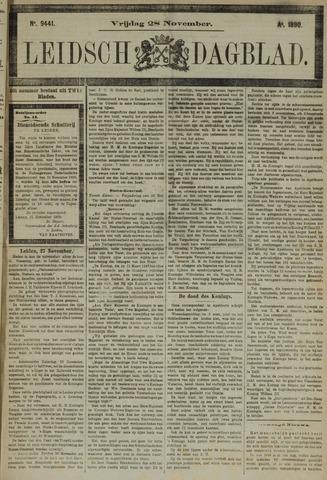 Leidsch Dagblad 1890-11-28