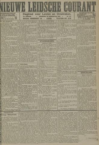 Nieuwe Leidsche Courant 1921-08-23