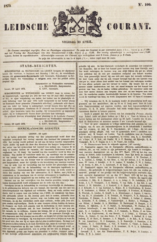 Leydse Courant 1875-04-30