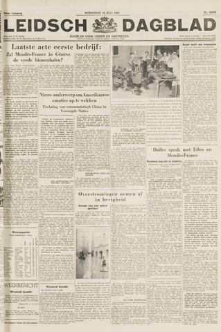 Leidsch Dagblad 1954-07-14