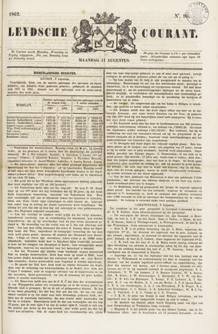 Leydse Courant 1862-08-11