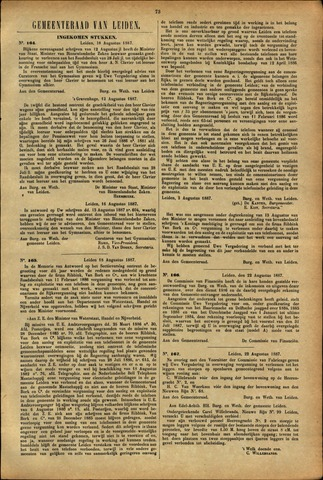 Handelingen van de Raad 1887-08-18