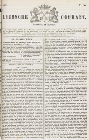 Leydse Courant 1877-10-31