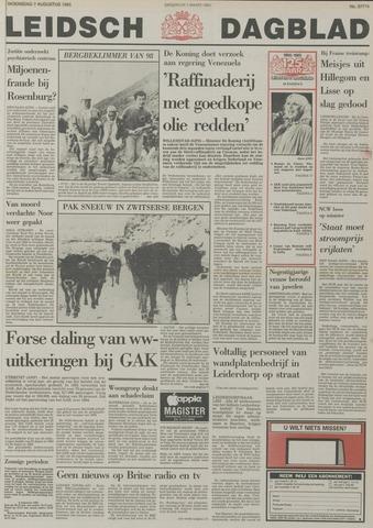 Leidsch Dagblad 1985-08-07