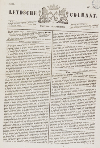 Leydse Courant 1866-09-10