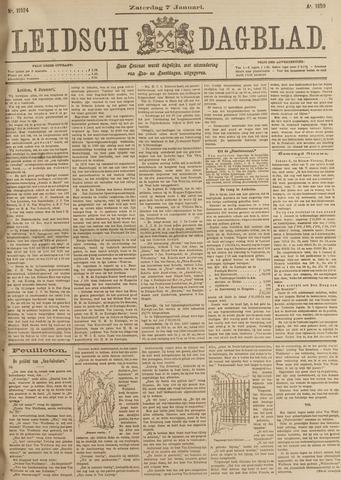 Leidsch Dagblad 1899-01-07