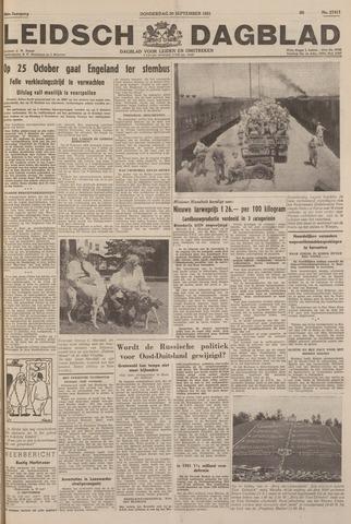 Leidsch Dagblad 1951-09-20