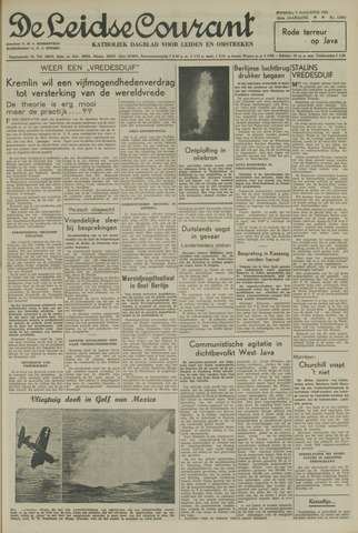 Leidse Courant 1951-08-07