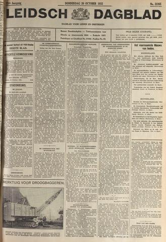 Leidsch Dagblad 1932-10-20