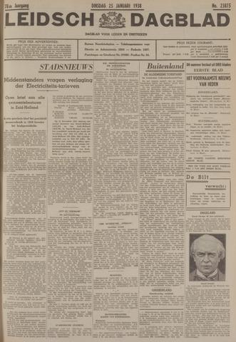 Leidsch Dagblad 1938-01-25