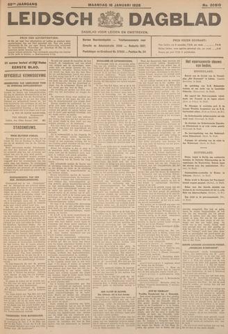 Leidsch Dagblad 1928-01-16