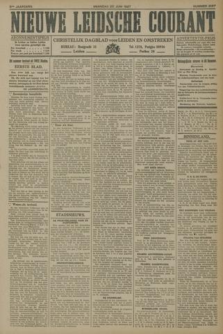 Nieuwe Leidsche Courant 1927-06-20